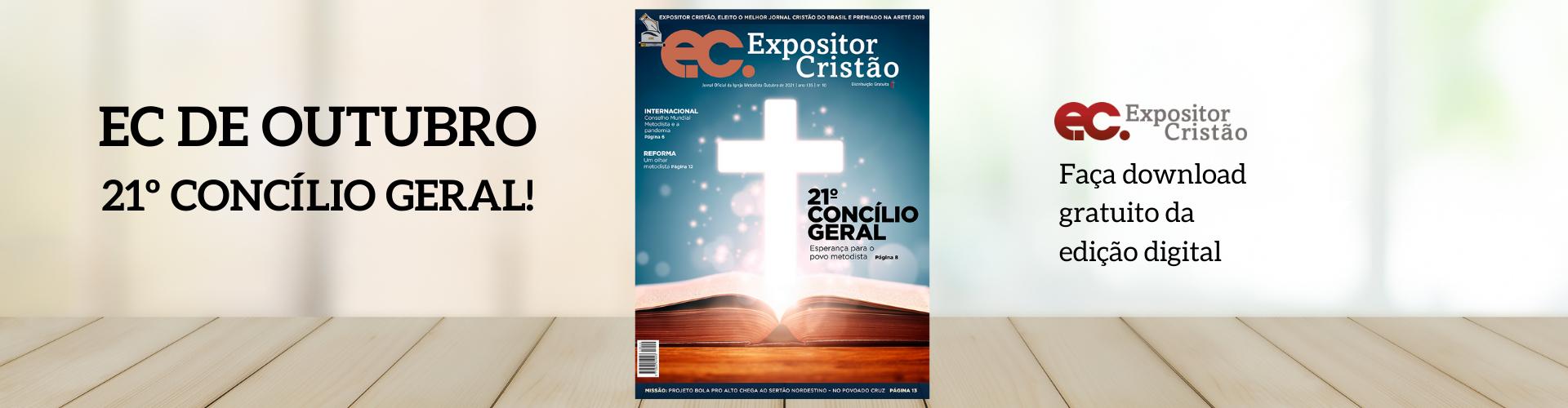 EC | 21º Concílio Geral bate à porta e traz esperança ao povo metodista