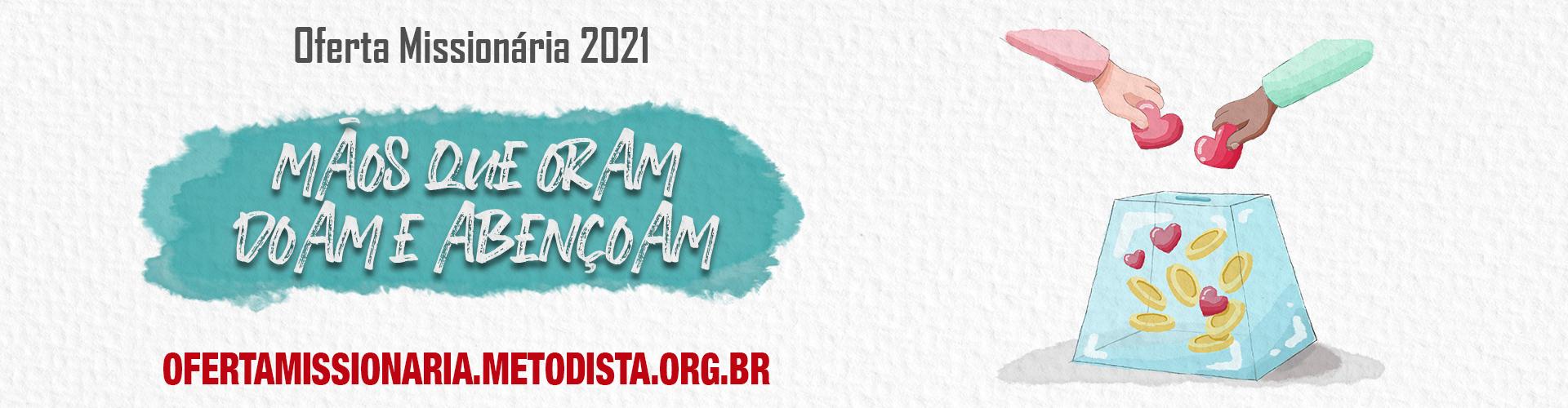 Oferta Missionária 2021
