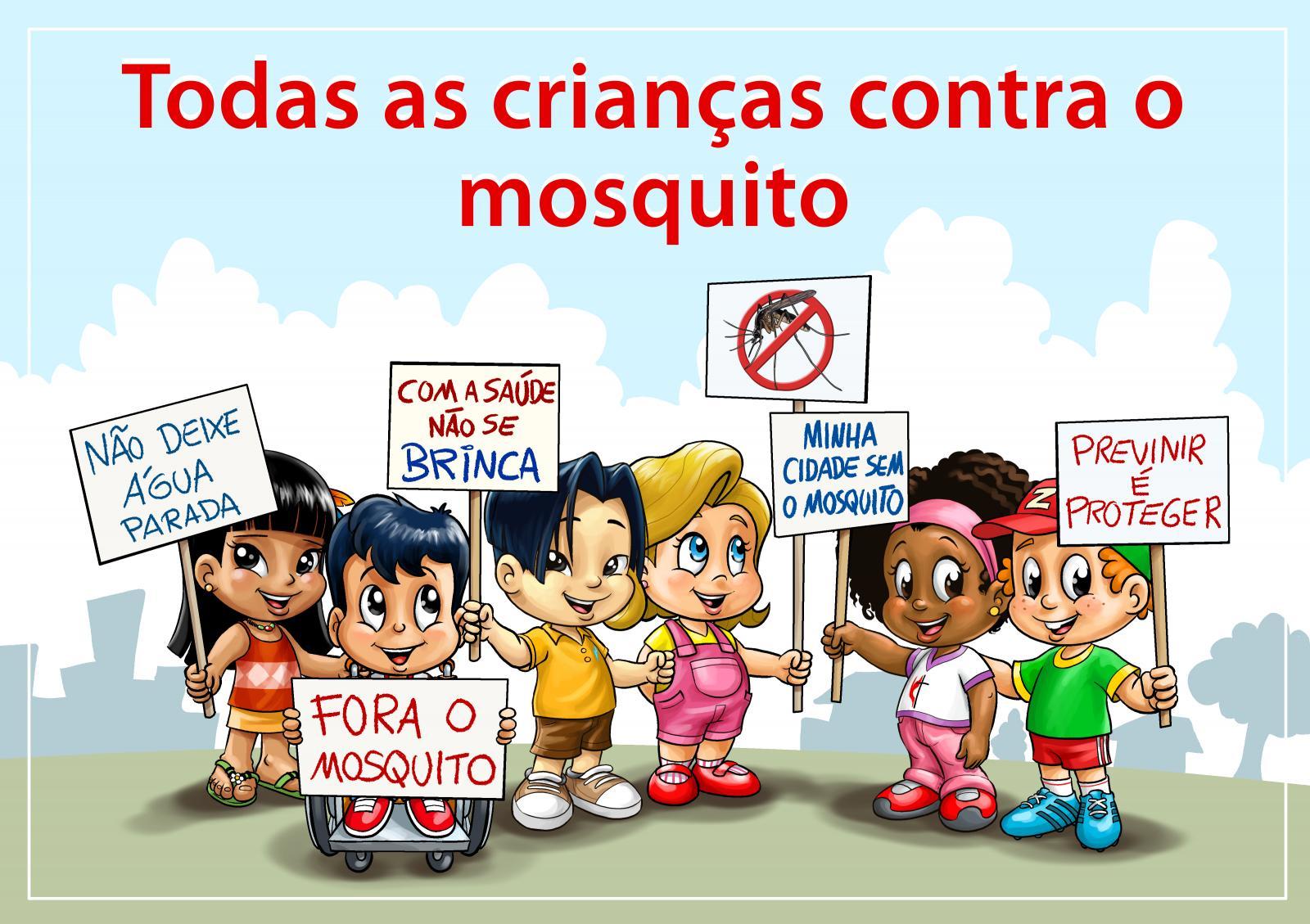 Todas As Criancas Contra O Mosquito
