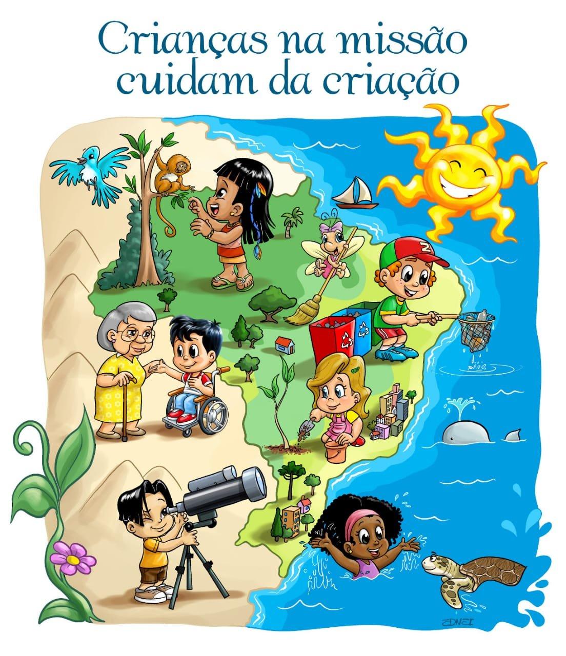 DNTC - Crianças na missão cuidam da criação