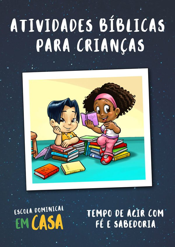 E-book gratuito: atividades bíblicas para crianças