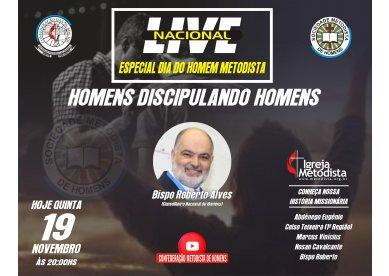 Live Nacional dos Homens Metodistas  Brasil