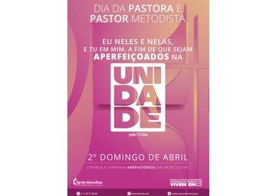 Me Pastoreou - Campanha para o Dia da Pastora e do Pastor Metodista