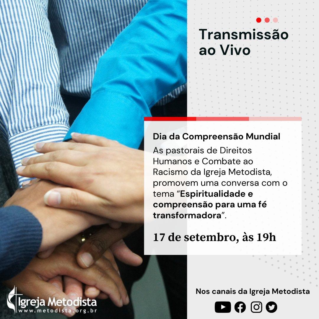 LIVE | Dia da Compreensão Mundial | Pastorais de Direitos Humanos e Combate ao Racismo