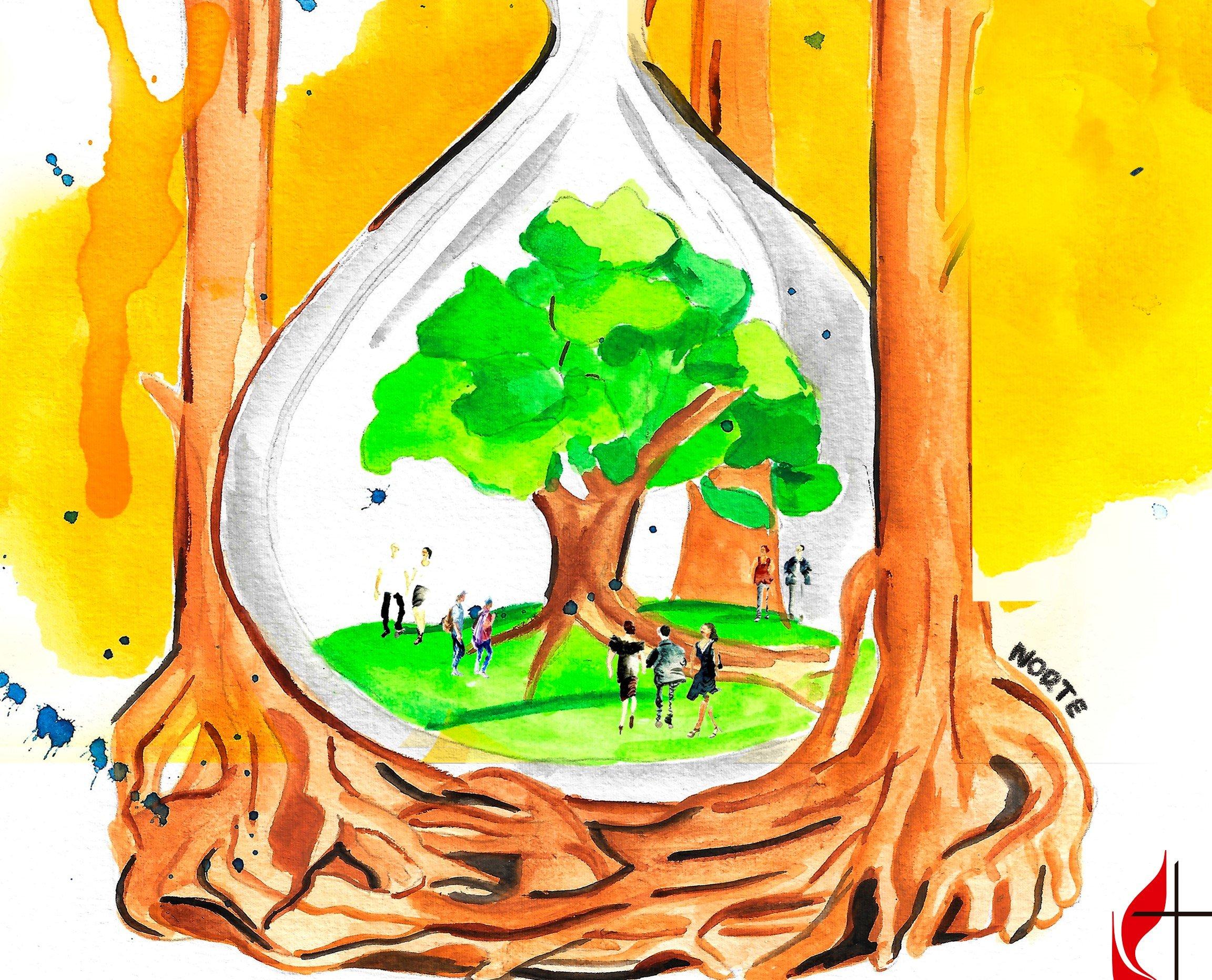 Pastoras e Pastores cuidam de si; da igreja; do meio ambiente