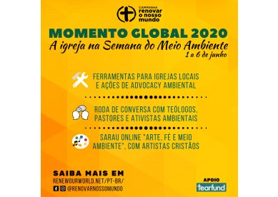 Semana do Meio Ambiente: uma oportunidade de reflexão, ação e testemunho para a igreja