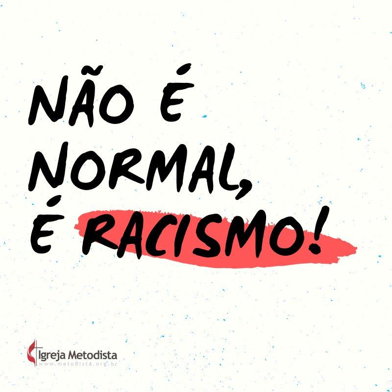 Não é normal, é racismo! - Mês da Consciência Negra