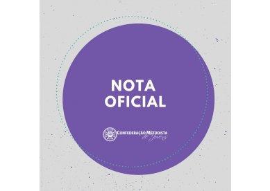 Nota oficial da Confederação Metodista de Jovens sobre Treina Jovem 2020