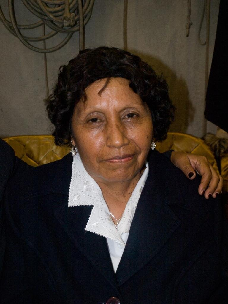 Nota sobre a partida de Soledad Zavaleta-Minaya De Aguilar