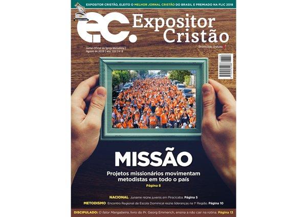 Expositor Cristão de agosto fala sobre os projetos missionários metodistas