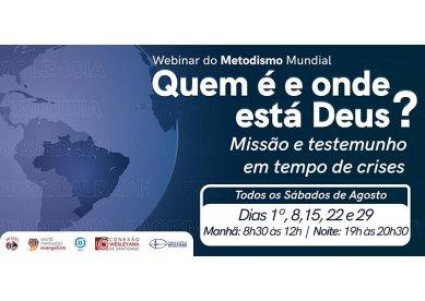 [EC] Webinar do Metodismo Mundial